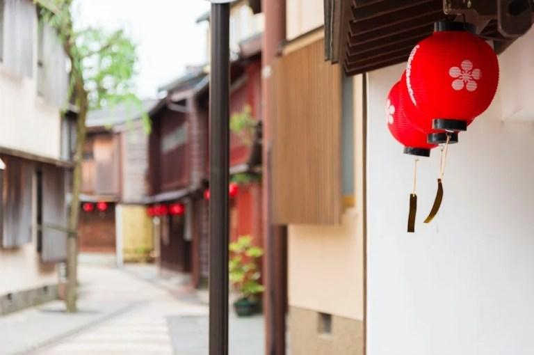 historical Kanazawa japan