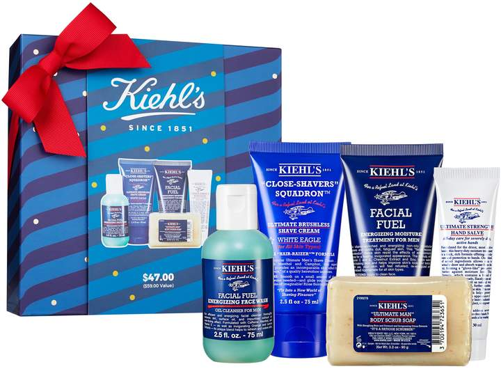 Kiehls mens travel skin care kit