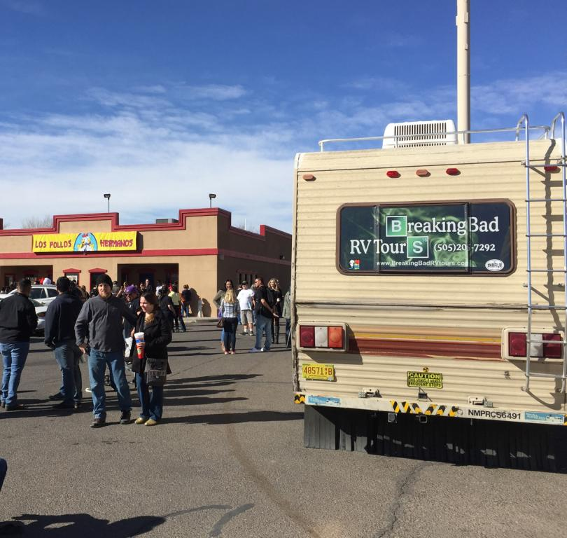 El camino Breaking Bad Tour RV