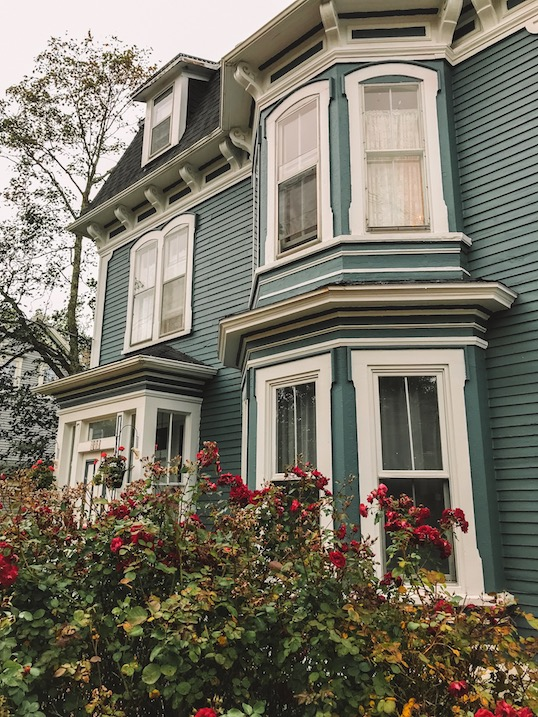 victorian homes on st george st annapolis royal