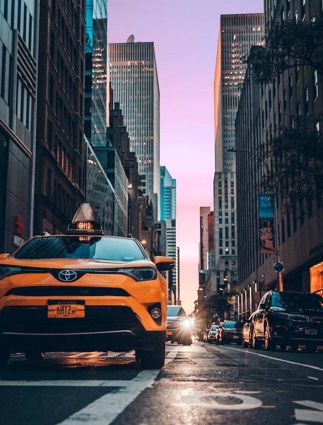 Prices for flat-rate taxis from newark airport to New York city