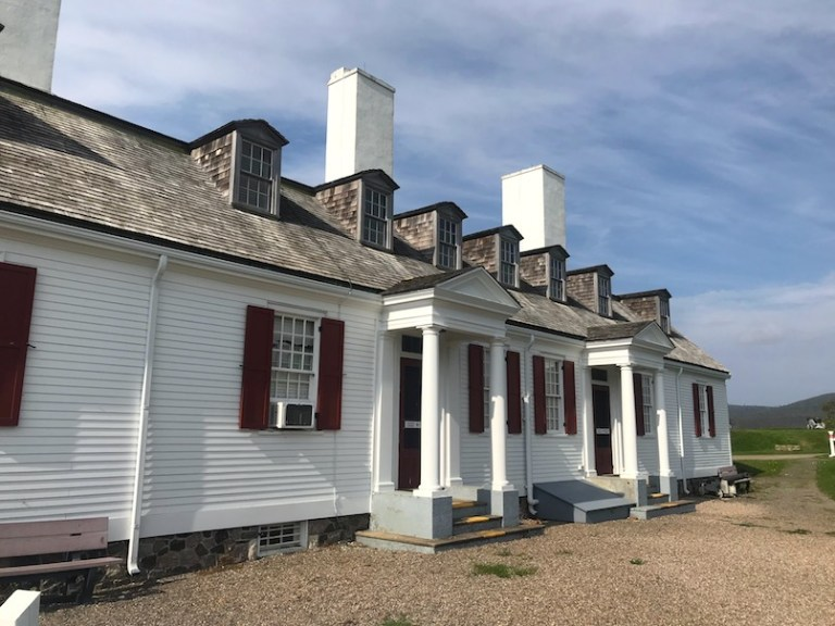 Fort Anne officers quarters