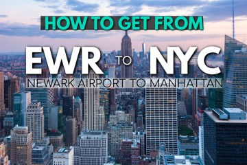 How to get from Newark airport to Manhattan