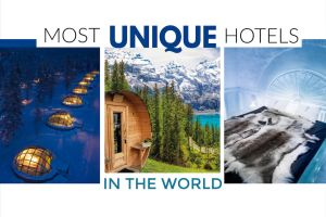 Most unique hotels in the world