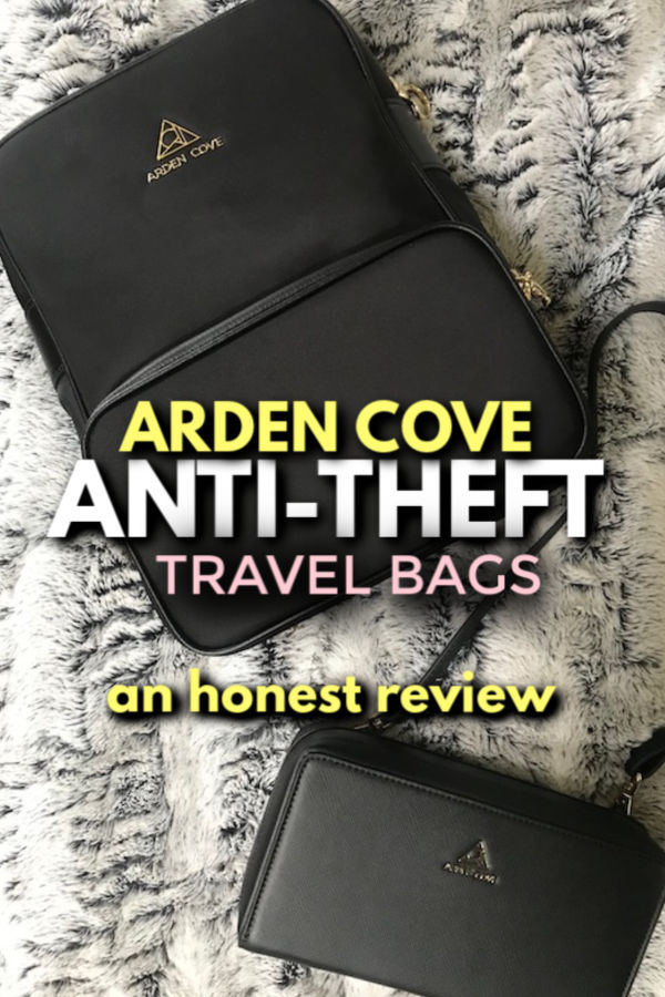 Arden Cove anti-theft Travel Bags - an honest review
