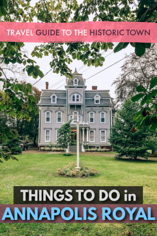things to do in annapolis royal