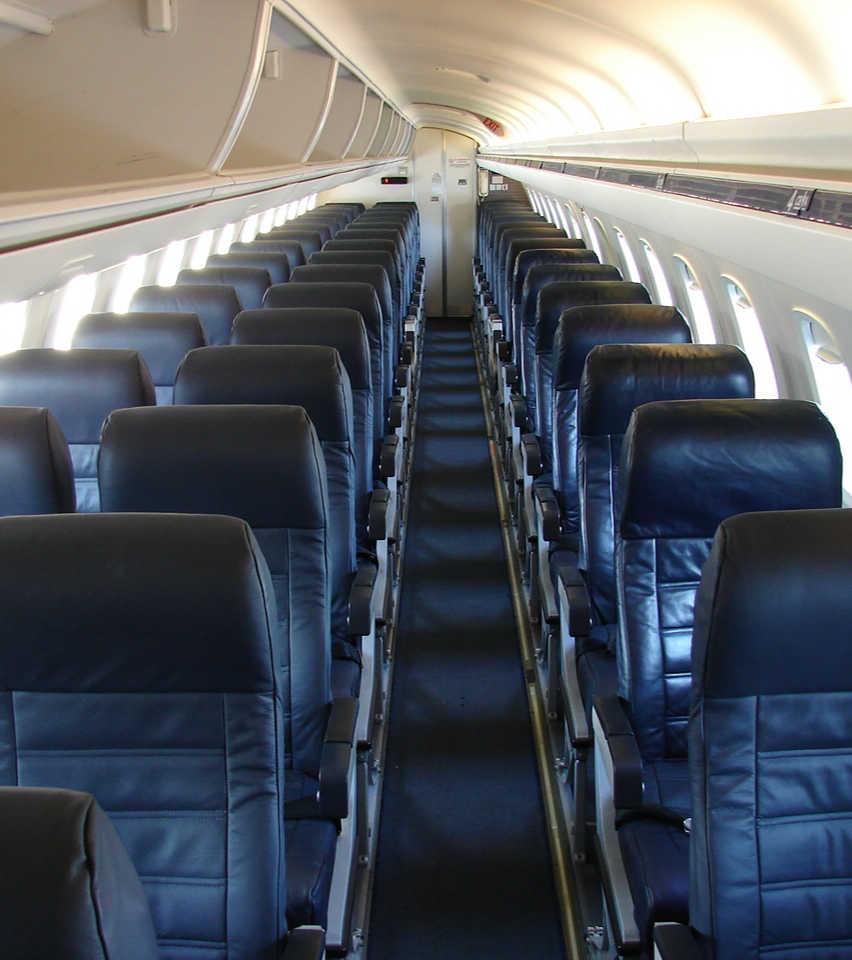 cramped seat