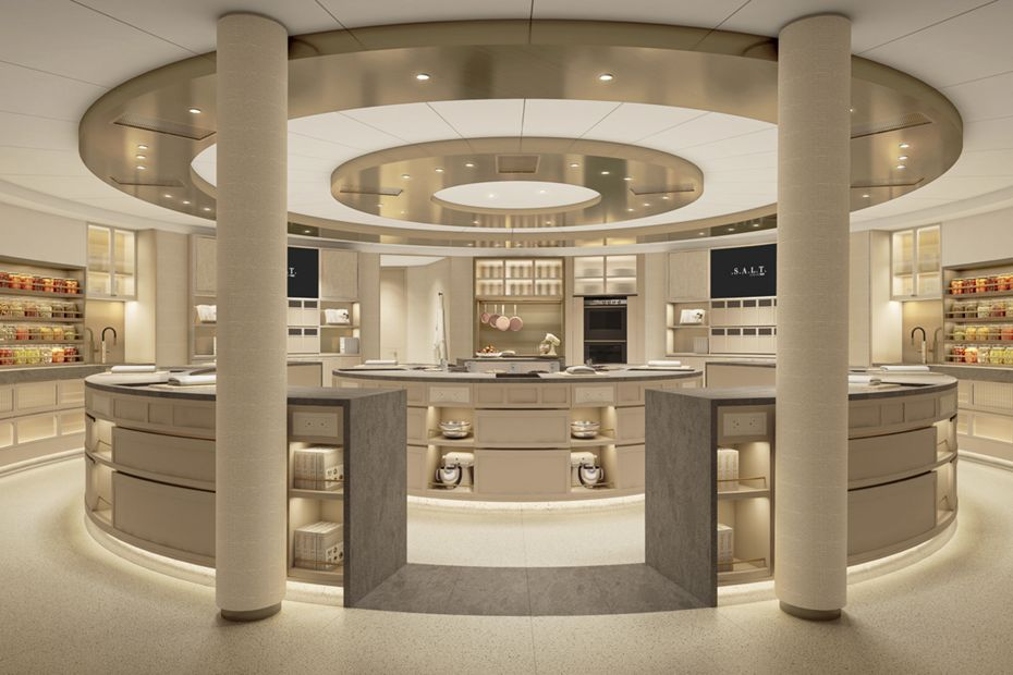 S.A.L.T lab on new cruise ship from SilverSea