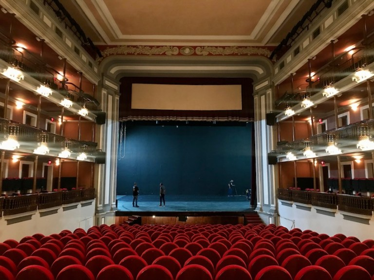 cruise port day in mazatlan - what to do - visit angela peralta theatre