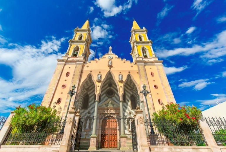 visit the cathedral in mazatlan on a cruise port stop