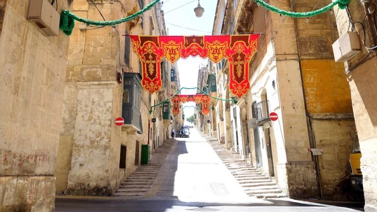 festa preperations in malta