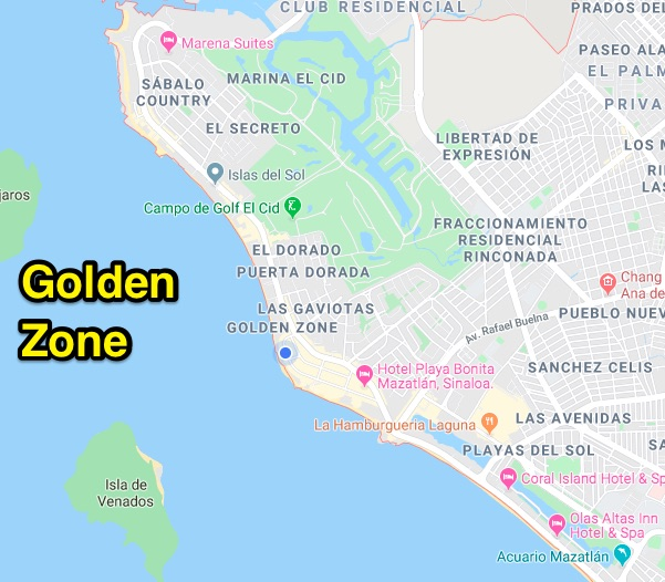 The Golden ZOne - popular expat areas