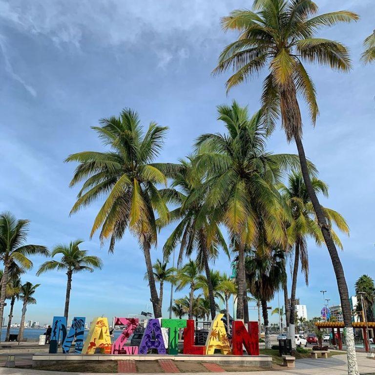Letters of Mazatlan in Centro