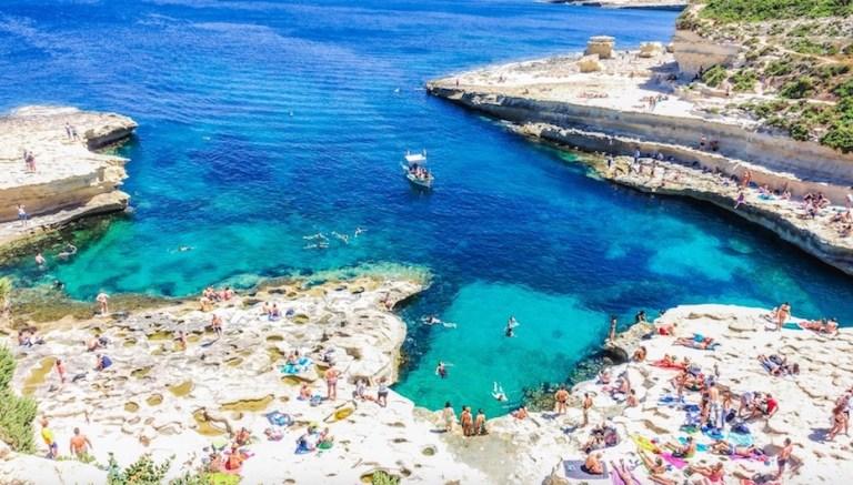 st peters pool in malta