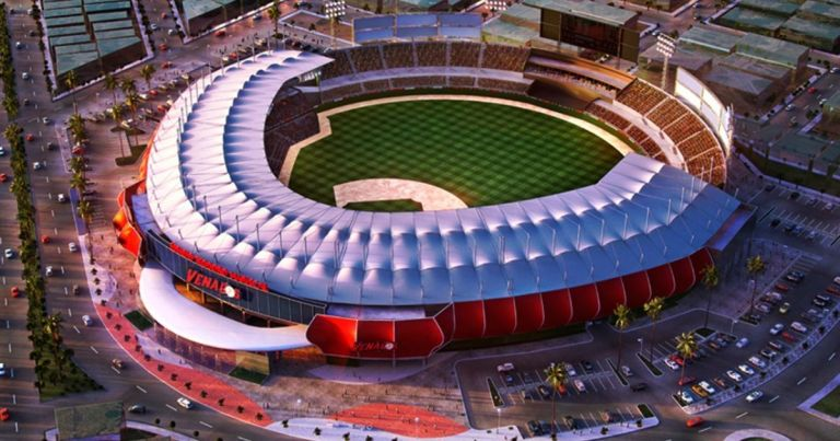 New venados stadium in mazatlan