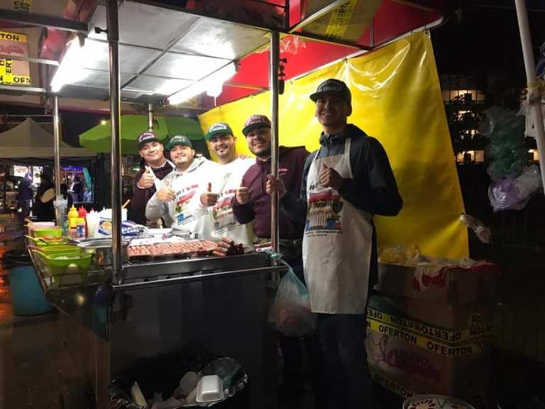 street vendors in mazatlan - hot dogs el charly