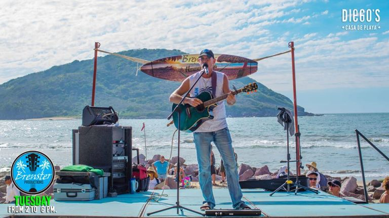Top things to do in mazatlan - brensters beach bash party