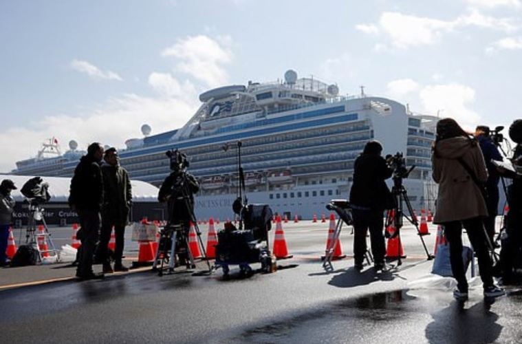 ANOTHER huge rise in coronavirus cases on Japan's quarantined cruise ship sees 44 new infections overnight, bringing the total to 219