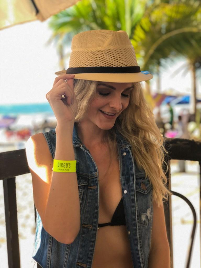 Kashlee at Diego's beach house in Mazatlan