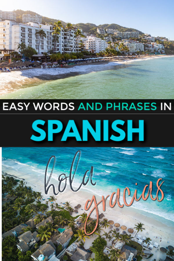easy words and phrases in spanish for travel