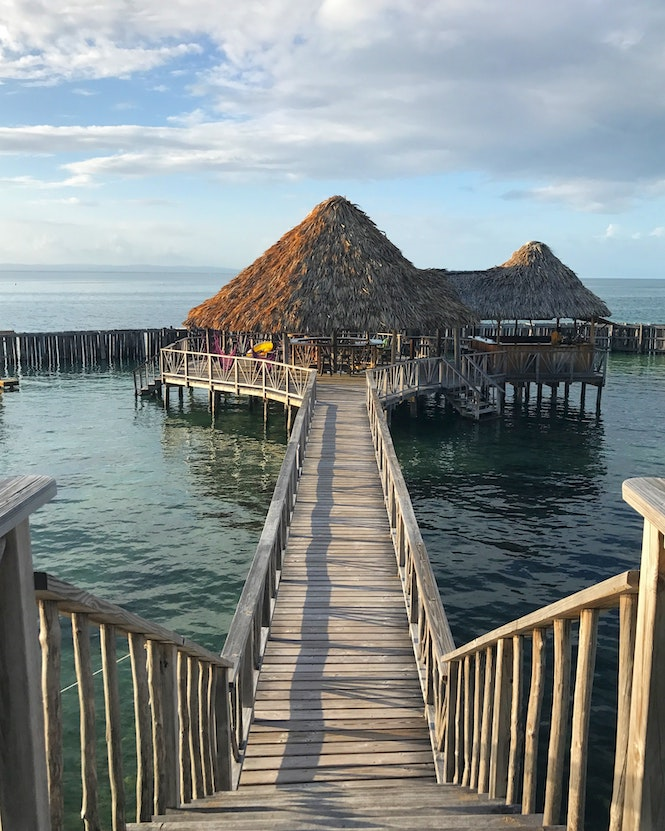 Belize is an English speaking country to visit