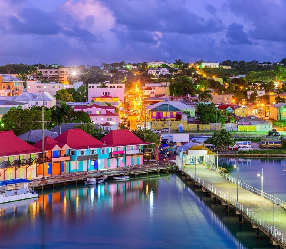 Antigua and Barbuda Pier