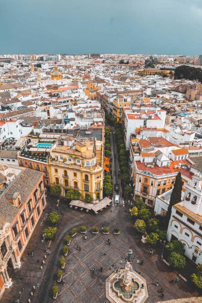 Streets of Madrid Spain