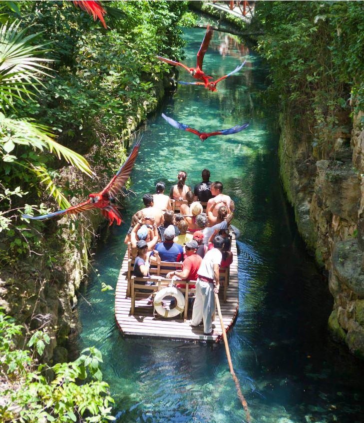 Xcaret park river
