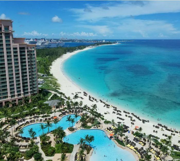 bahamas resort beach