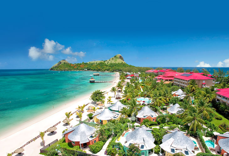 saint lucia resort