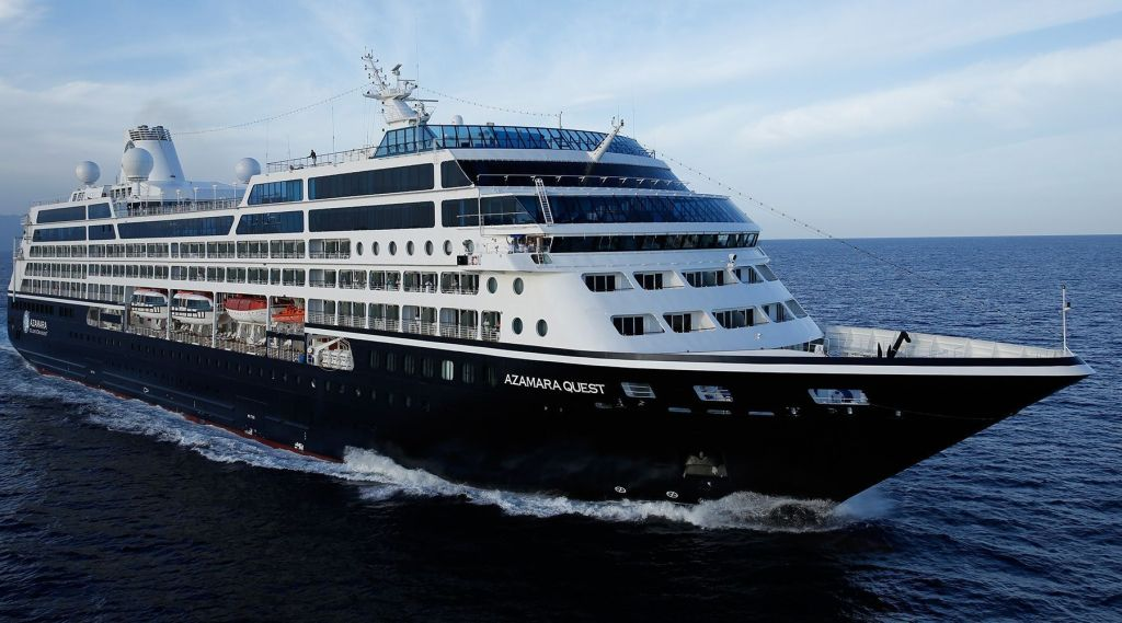 Azamara luxury small cruise ship