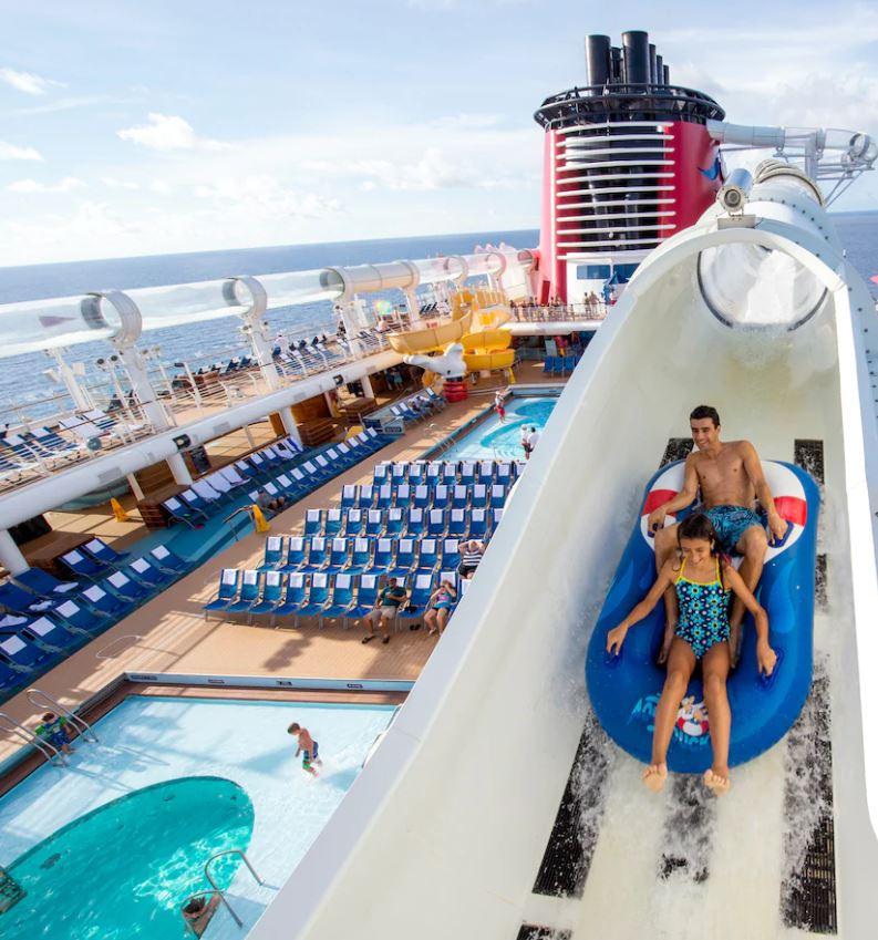 Disney Cruise Waterslide