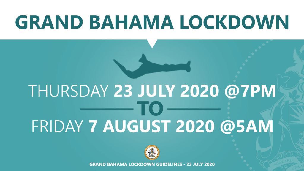 Grand Bahama Lockdown order