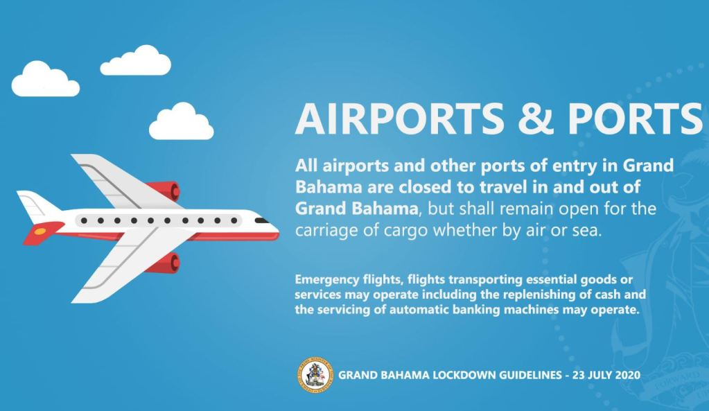 grand bahamas lock down