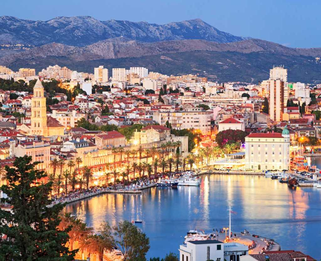 Old Town Split, Croatia
