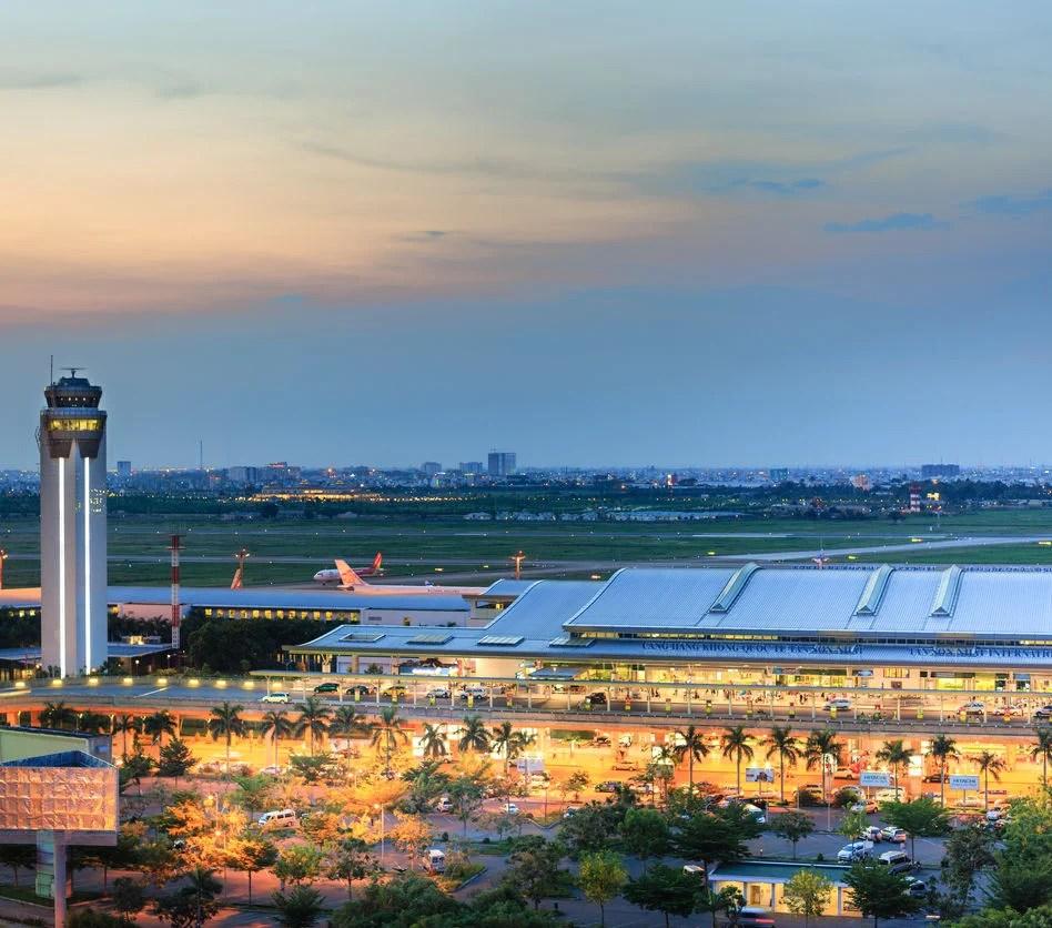 Tan Son Nhat International Airport, Ho Chi Minh, Vietnam
