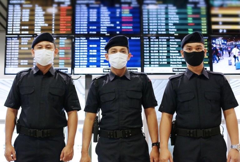 malaysia airport mask