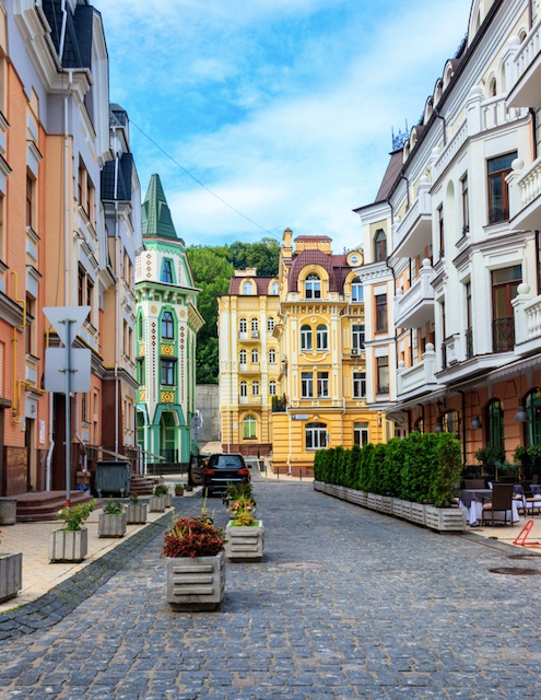 Kyiv Ukraine reopens again for tourism