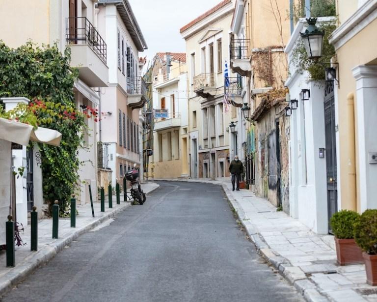 Greece lockdown