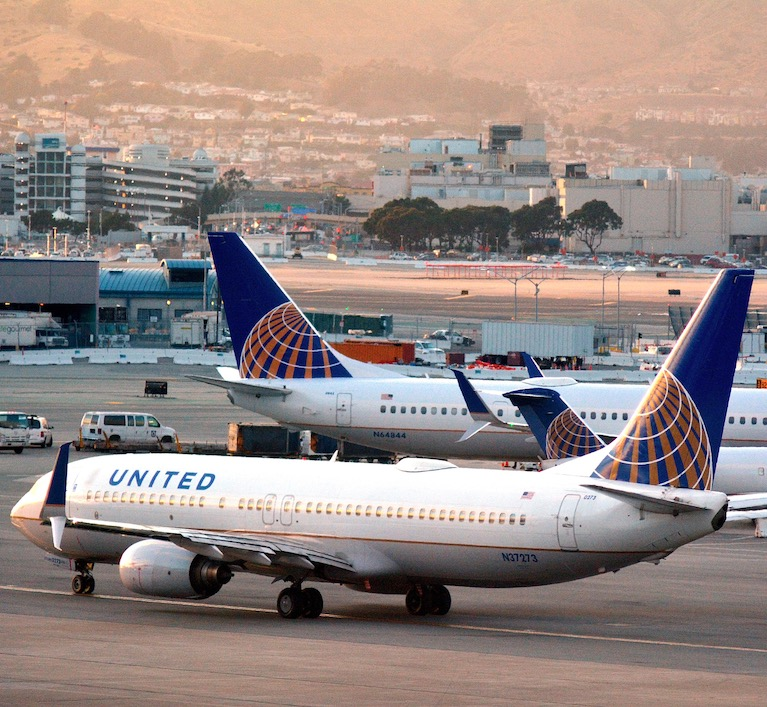 United Airlines, San Francisco