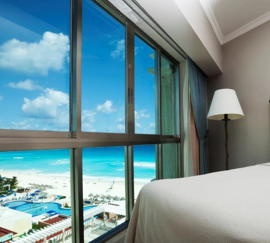 cancun ocean view room