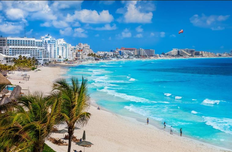 6.4 Million Tourists Have Visited Cancun Since Reopening