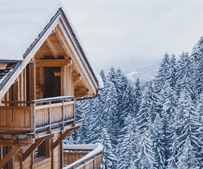 alps ski chalet