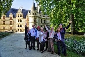France tour group fun