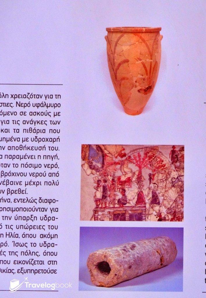 發掘到的陶水管,印證出古人在另一山頭引水為用。