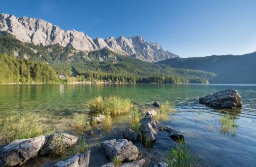 Eibsee und Zugspitze
