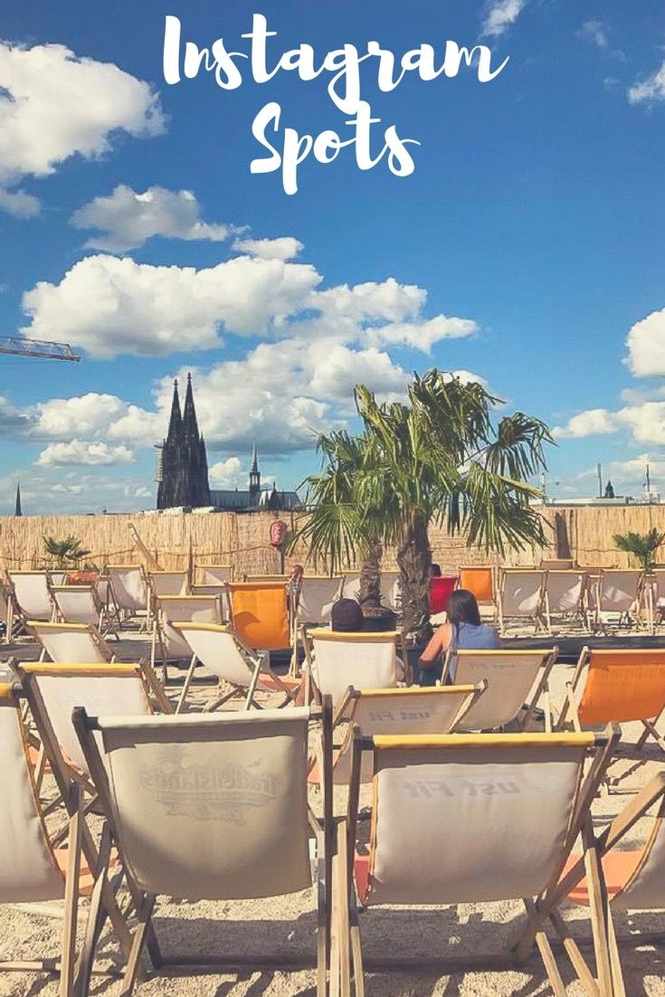 Strandbar met uitzicht op de kathedraal in Keulen: Ben je nog steeds op zoek naar inspiratie voor je volgende vakantie? Ik introduceer 15 fantastische bestemmingen voor Europese reizen en verre reizen. #Vakantie #Reis #Europese reizen #Fernreise