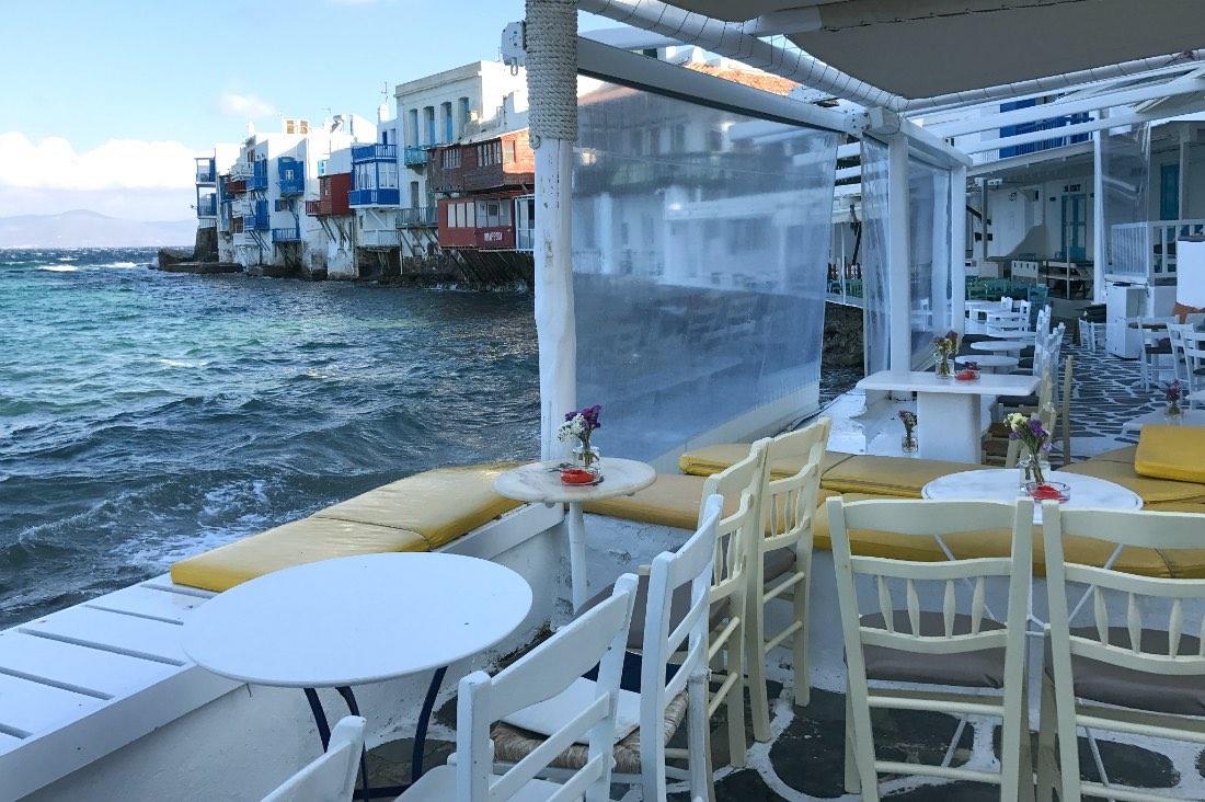 Mykonos: De kleurrijke huizen van Little Venice