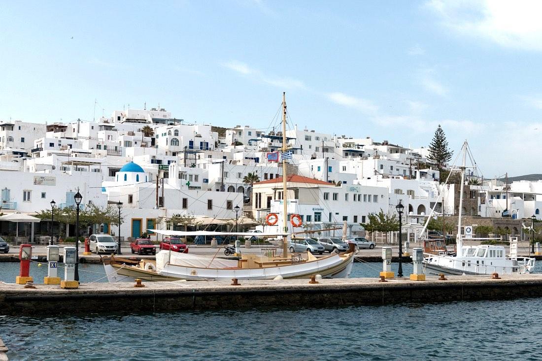 Naoussa op Paros Griekenland