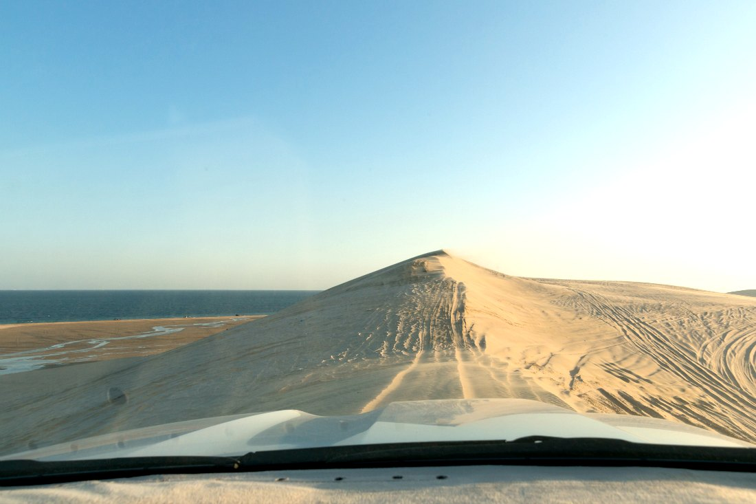 Doha woestijnsafari in jeep